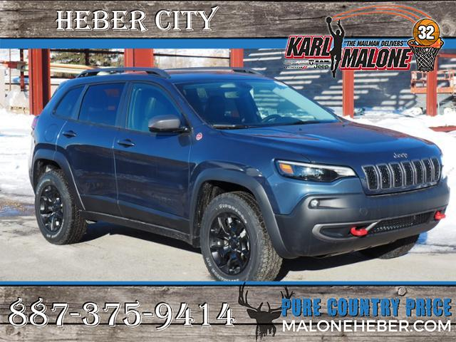 New Jeep Cherokee >> New 2019 Jeep Cherokee Trailhawk Elite 4x4