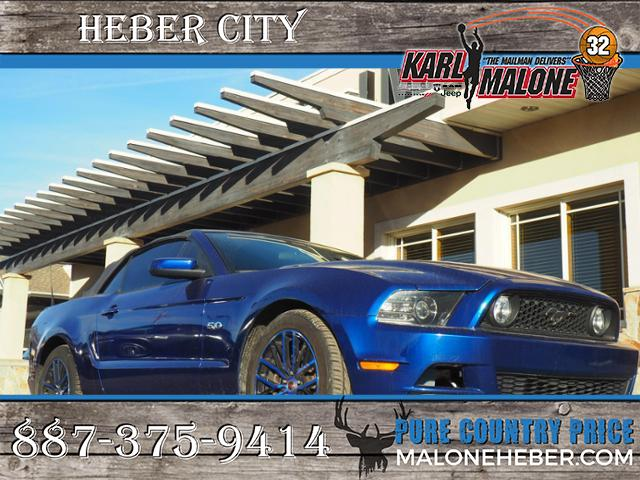 Pre Owned 2014 Ford Mustang Gt 2d Convertible In Heber City 4073b