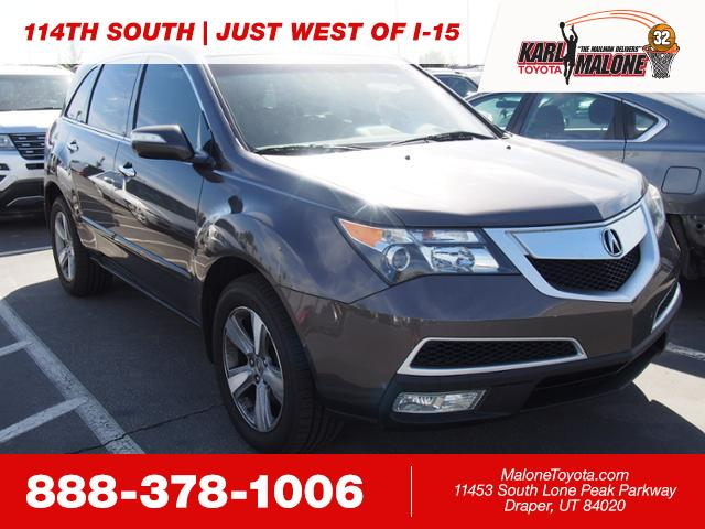 PreOwned Acura MDX SUV In Heber City A Karl Malone - Acura mdx pre owned